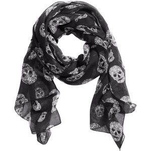 🖤H&M Skull Print Scarf/Wrap🖤